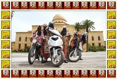 A Day In The Life Of A Moroccan Biker Girl
