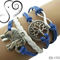 I just discovered this while shopping on Poshmark: Blue Rope Elephant BraceletBoutique. Check it out!  Size: OS