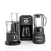 Cuisinart Black Matte Electrics Collection