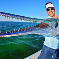 @PeterMillerFish with an unusual catch! Photo by Mikey Finiguerra  #WayOfTheWaterman