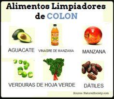 ALIMENTOS LIMPIADORES DE COLON