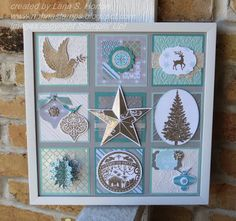 Stampin' with Nanna: Look what I've made for our Christmas Retreat!  Stampin' Up!