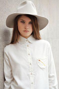 Samantha Pleet Ivory Heart Shirt