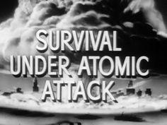 Survival Under Atomic Attack video - 1951 American Civil Defense Educational Film