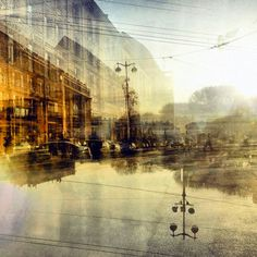Double exposure photography by Ni Petrov | http://ineedaguide.blogspot.com/2015/04/ni-petrov.html | #photography