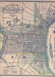 Image result for philadelphia city plAn survey 1824 print