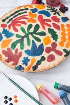 Matisse inspired pie crust - how cool is this! via House The Lars Built