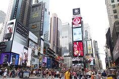 Times Square shoot from citibike