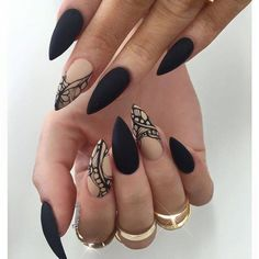 When it comes to style, then a nails art boosts the confidenceม gives hands more presentable look.Check out these 20 stilettos nails art to suite you. Love Nails, How To Do Nails, Pretty Nails, Fun Nails, Matte Nails, Stiletto Nails, Acrylic Nails, Black Nails, Maroon Nails