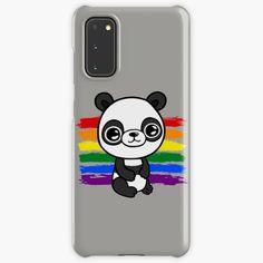 """Cute Rainbow Panda "" Case & Skin for Samsung Galaxy by jakezbontar   Redbubble Samsung Cases, Samsung Galaxy, Phone Cases, Panda, Rainbow, Cute, Rain Bow, Rainbows, Kawaii"