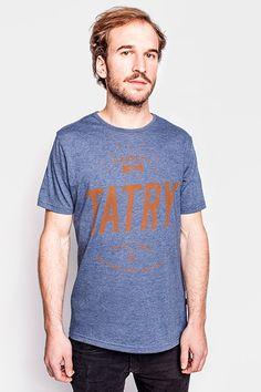 Tatry męska koszulka | Pan tu nie stał