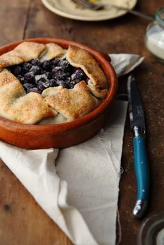 individual blueberry pie~supposedly best crust ever~gordon ramsay recipe