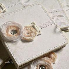 albumy handmade: Eleganckie foldery na 2 płyty