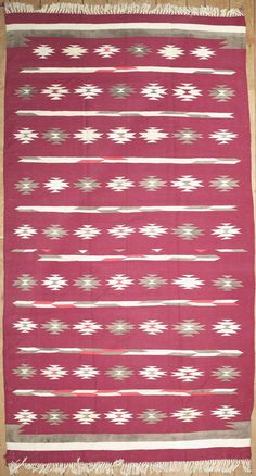 Handmade and knotted rectangular area rug with Persian Afshar patterns in red, 6x12. Imported from Iran/Persia with wool. Free Shipping within the US.