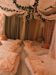 A bachelorette party isn& complete without a slumber party afterwards! - - A bachelorette party isn& complete without a slumber party afterwards! A bachelorette party isn& complete without a slumber party afterwards! Sleepover Crafts, Sleepover Room, Fun Sleepover Ideas, Sleepover Birthday Parties, Bachelorette Slumber Parties, Sleep Over Party Ideas, Birthday Party Ideas For Teens 13th, Sleepover Activities, Adult Slumber Party