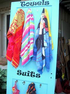 pool areas, beach houses, suit, towel, lake, backyard, hot tubs, old doors, pools
