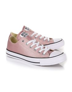 aa437efb1f8fc8 Converse Women s Chuck Taylor All Star Ombre Metallic Sneakers - Particle  Beige Saddle White