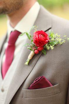 Burgundi Wedding