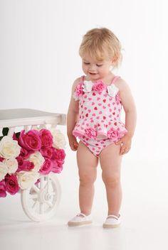 Kate Mack Sweetheart 2-piece Infant Swimsuit