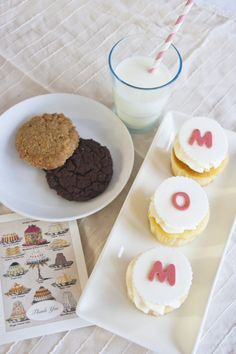 """""""Thank you Mom"""" - Treat your Mom this Mother's Day to an Afternoon Tea Party or to a Mummy & Me Cupcake Decorating at Le Dolci. http://www.ledolci.com/class-schedule/"""