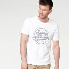 #new #newcollection #newarrivals #men #mencollection #mustang #mustangcollections #fw15 #fallwinter15 #tshirt #white #print #printtshirt