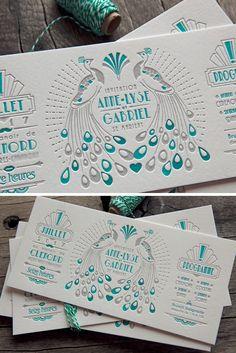 Carton de mariage en 2 couleurs avec surimpression sur buvard blanc naturel 500g / wedding letterpress invite in 2 colors Graphic Design Layouts, Graphic Design Branding, Corporate Design, Artist Business Cards, Business Card Design, Ticket Card, Carton Invitation, Name Card Design, Wedding Invitation Card Design