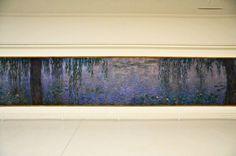 Claude Monet: Nymphéas (Water Lilies) at Musée de l'Orangerie Paris France by mbell1975, via Flickr