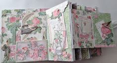 annes papercreations: G45 Botanical Tea Envelope Mini Album with Flaps - Challenge with Linda at livartnow