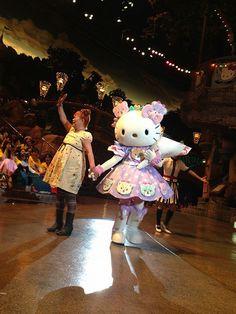 Hello Kitty celebrates her Birthday with her creator, Yuko Yamazaki at Sanrio Puroland, the indoor theme park located in Tama New Town, Tokyo.