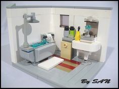 Afficher l'image d'origine Lego Bathroom, Vanity, Cabinet, Storage, Inspiration, Furniture, Home Decor, Dressing Tables, Clothes Stand