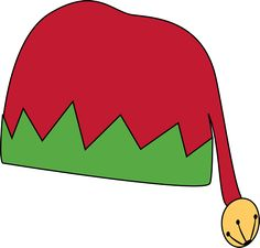 christmas hat clip art christmas graphics pinterest christmas rh pinterest com santa hat clipart png santa hat clip art free