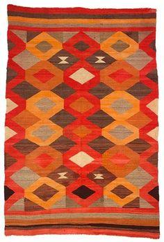 foxontherun:    (via Artful / Navajo 1930 Transitional Weaving, wool.)