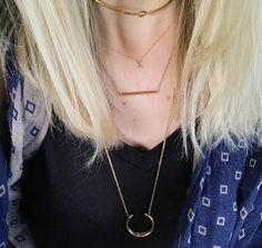 #chokers #dainty #jewellery #jewelry #stelladotstyle #fashion #gold #layering