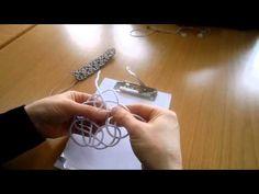 Kazaziye balık kılçığı bileklik Halime Çalışkaner - YouTube