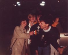 With Julie, Mandy, me and Nick. Tottenham away '84