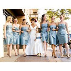 Bride And Bridesmaids   A Perfect Celebration via Polyvore