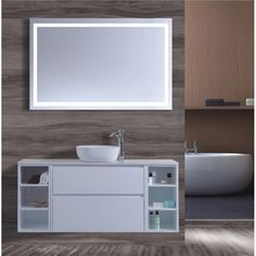 New product range. - 1500 wall hung vanity basin High gloss white finish Soft close draws Stone tops - Colour of your choice Above counter basin of your choice http://www.bathroom-renovation.melbourne #bathroom #renovation #interiordesign #remodel