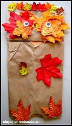 Preschool Co-op, week 4 - Autumn/Fall Theme