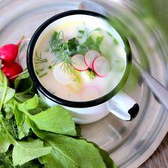Qchnia Osobista : Wiosenna zupa z rzodkiewek