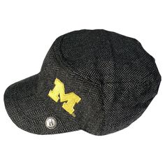 The Honour Society - Michigan Wolverines Herringbone Cabbie Hat, $24.99 (http://www.thehonoursociety.com/products/michigan-wolverines-herringbone-cabbie-hat.html)