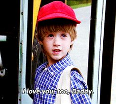 We love you too, baby Gump.