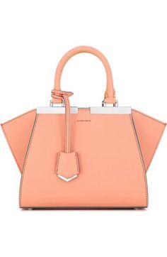 7757759822f1 Fendi  Mini 3Jours  Calfskin Leather Shopper