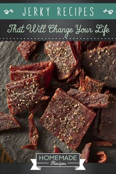 Jerky Recipes That Will Change Your Life by Homemade Recipes at http://homemaderecipes.com/bbq-grill/15-homemade-jerky-recipes/