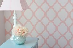 i absolutely love this for miss girl's new room, Turquoise and Pink... perfect!!