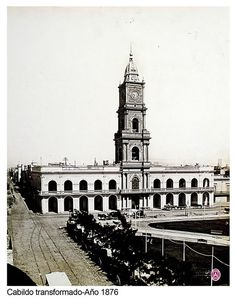 Cabildo transformado (1876) - Archivo General de la Nacion