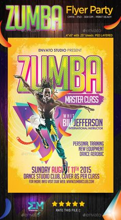 22 Best Zumba Ad Images Zumba Fitness Dancing Card Templates