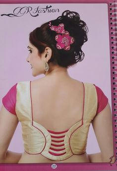 We are here with selected Back Neck Blouse Designs Patterns for modern look and glamourous style. Patch Work Blouse Designs, Best Blouse Designs, Simple Blouse Designs, Stylish Blouse Design, Blouse Back Neck Designs, Designer Blouse Patterns, Saree Blouse Neck Designs, Indian Blouse Designs, Kurta Designs