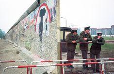 Nieuwe opening in De Muur op Potsdamer Platz. Fotoserie; Berlijn voor en na de val van de muur door Johan van Elk