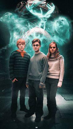 Harry Potter Trio, Young Harry Potter, Harry Potter Poster, Mundo Harry Potter, Harry Potter Icons, Harry Potter Tumblr, Harry James Potter, Harry Potter Hermione, Harry Potter Jokes