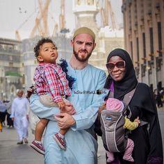 MashAllah, a beautiful family at Masjid Al Haram